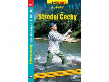 Střední Čechy - rybářská mapa
