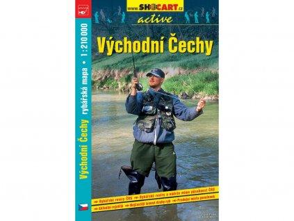 Východní Čechy - rybářská mapa
