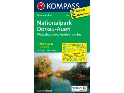 Nationalpark Donau-Auen, Wien, Bratislava (Kompass - 211)