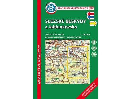 Slezské Beskydy a Jablunkovsko -  mapa KČT č.97