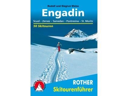 Engadin - skialpinistický průvodce