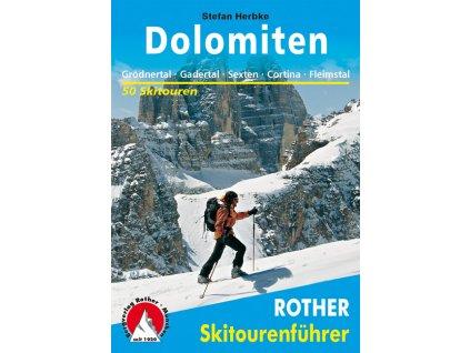 Dolomity - skialpinistický průvodce