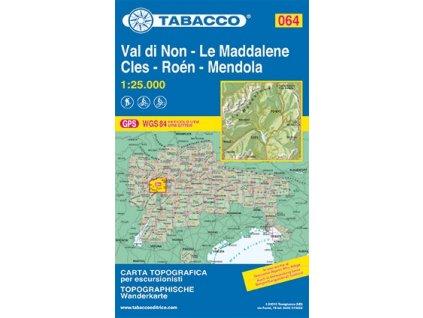 Val di Non, Le Maddalene, Clés (Tabacco - 064)