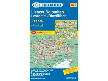 Lienzské Dolomity, Lesachtal (Tabacco - 072)