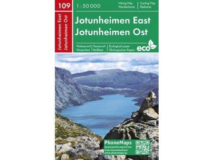 Jotunheimen východ