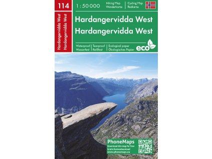 Hardangervidda západ