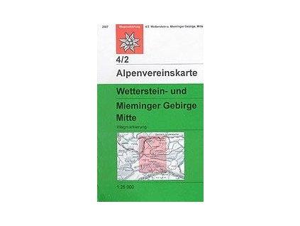 Wetterstein, Mieminger Gebirge Mitte (letní) – AV4/2