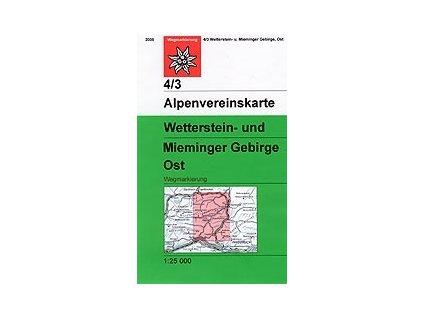 Wetterstein, Mieminger Gebirge Ost (letní) – AV4/3