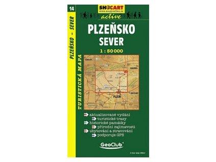 Plzeňsko, sever (turistická mapa č. 14)