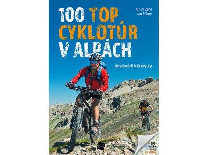 100 TOP cyklotúr v Alpách