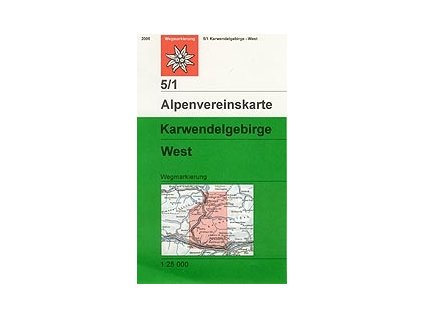 Karwendelgebirge West (letní) – AV5/1