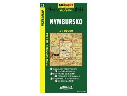 Nymbursko (turistická mapa č. 22)