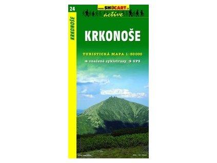 Krkonoše (turistická mapa č. 24)