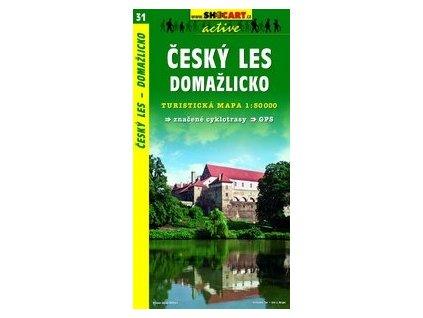 Českýles, Domažlicko (turistická mapa č. 31)