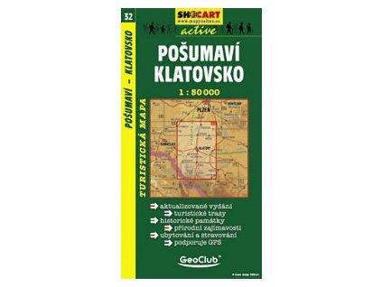 Pošumaví, Klatovsko (turistická mapa č. 32)
