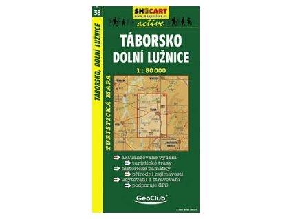 Táborsko,dolníLužnice (turistická mapa č. 38)