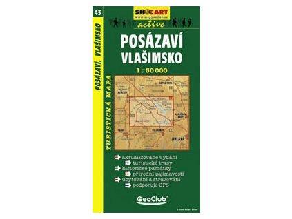 Posázaví,Vlašimsko (turistická mapa č. 43)