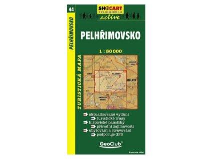Pelhřimovsko (turistická mapa č. 44)