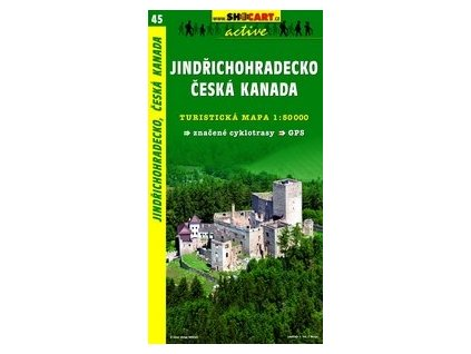 Jindřichohradecko,ČeskáKanada (turistická mapa č. 45)