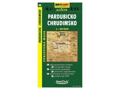 Pardubicko,Chrudimsko (turistická mapa č. 48)
