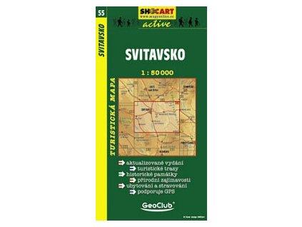 Svitavsko (turistická mapa č. 55)