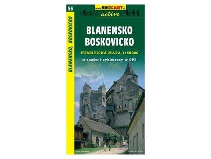 Blanensko,Boskovicko (turistická mapa č. 56)