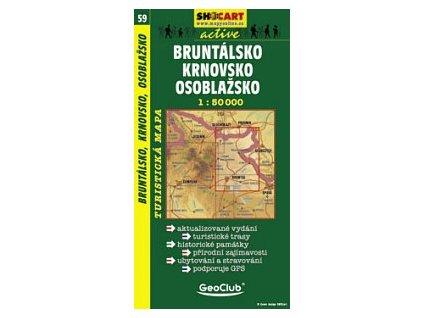 Bruntálsko,Krnovsko,Osoblažsko (turistická mapa č. 59)