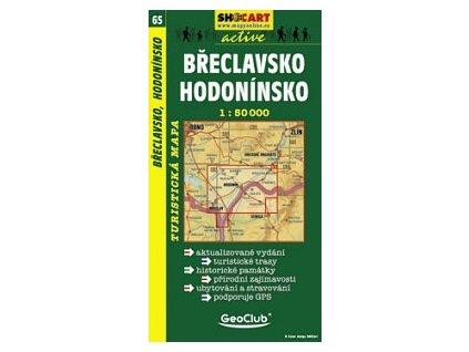 Břeclavsko,Hodonínsko (turistická mapa č. 65)