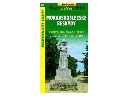 MoravskoslezskéBeskydy (turistická mapa č. 69)