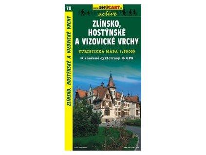 Zlínsko,HostýnskéaVizovickévrchy (turistická mapa č. 70)