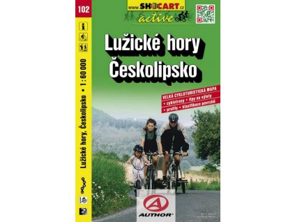 Lužické hory, Českolipsko (cyklomapa č. 102)