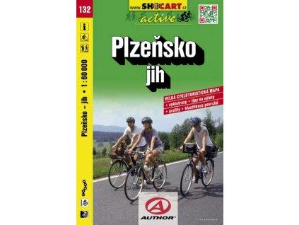 Plzeňsko, jih (cyklomapa č. 132)