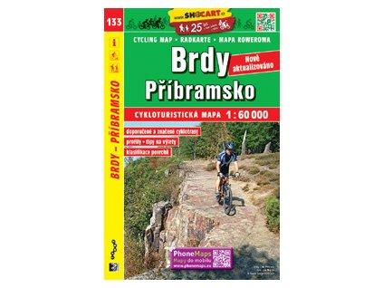 Brdy, Příbramsko (cyklomapa č. 133)