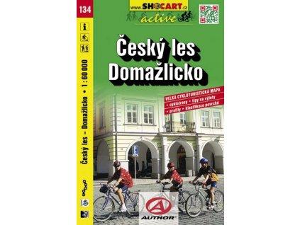 Český les, Domažlicko (cyklomapa č. 134)