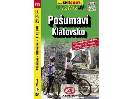 Pošumaví, Klatovsko (cyklomapa č. 135)