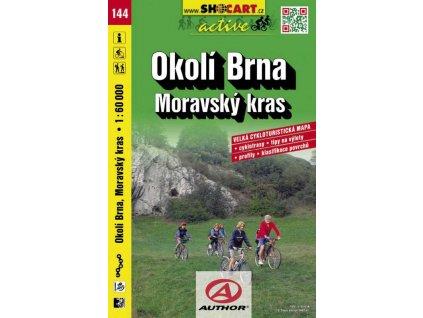 Okolí Brna, Moravský kras (cyklomapa č. 144)