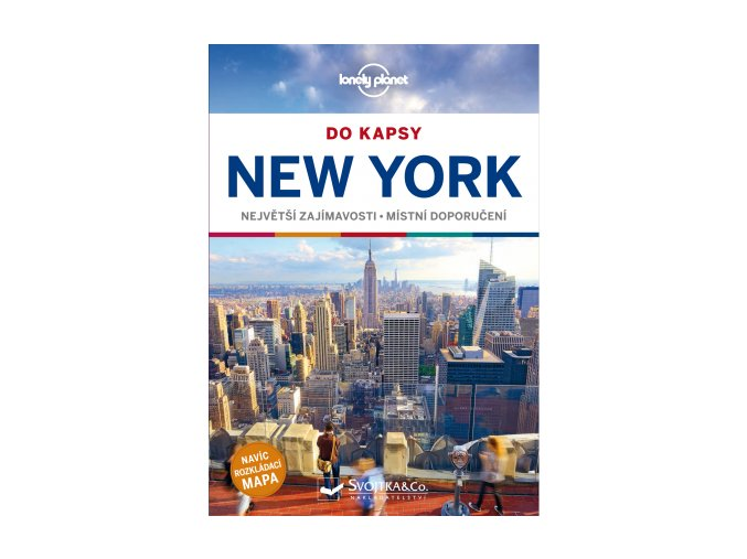 New York do kapsy -  průvodce Lonely Planet