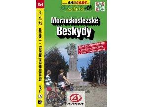 Moravskoslezské Beskydy (cyklomapa č. 154)
