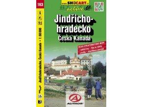 Jindřichohradecko, Česká Kanada (cyklomapa č. 163)
