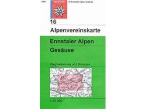 Ennstaler Alpen, Gesäuse (letní + zimní) – AV16