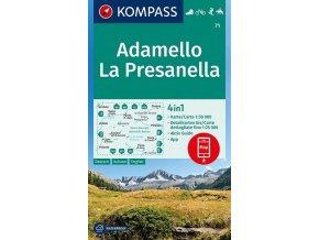Adamello, La Presanella (Kompass, 71)