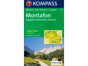 Montafon, Gargellen, Bielerhöhe, Silvretta (Kompass - 032)