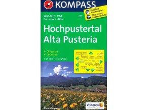 Alta Pusteria, Hochpustertal (Kompass - 635)