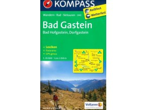 Bad Gastein, Bad Hofgastein, Dorfgastein (Kompass - 040)