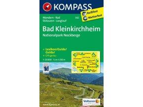 Bad Kleinkirchheim, Národní park Nockberge (Kompass - 063)
