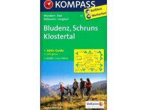 Bludenz, Schrunz, Klostertal (Kompass - 32)