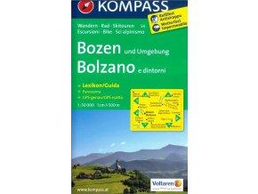 Bozen, Bolzano (Kompass - 54)