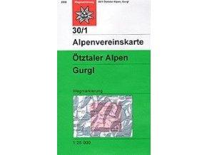 Ötztaler Alpen, Gurgl (letní) – AV30/1