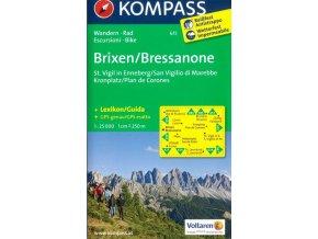 Brixen, Bressanone, St.Vigil, Enneberg (Kompass - 615)