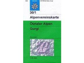 Ötztaler Alpen, Gurgl (zimní) – AV30/1